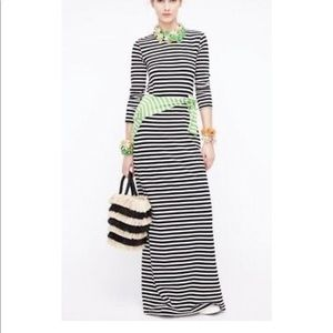 J. Few Striped Collection Maxi Dress.